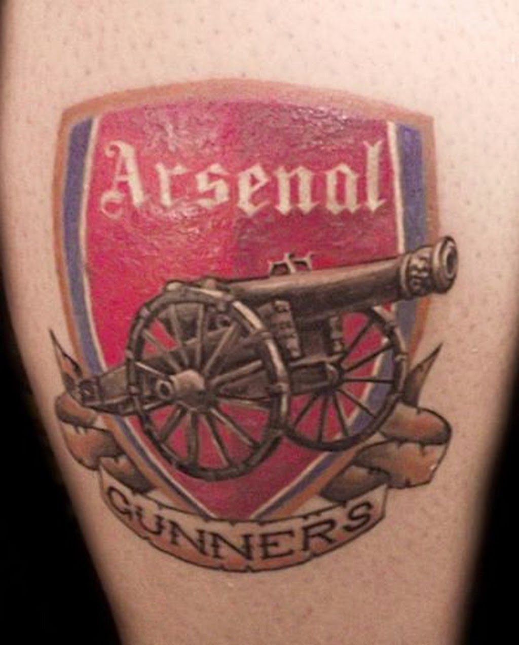 Ink The Gunners Footy Fair Ideas And Designs