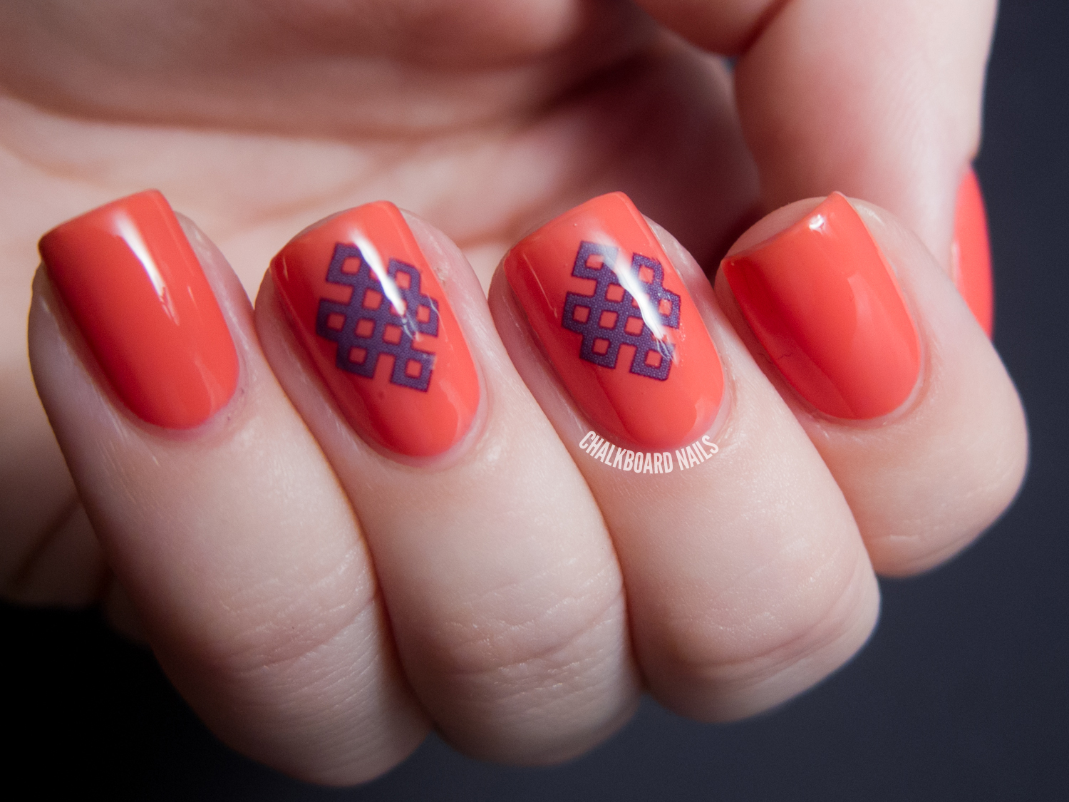 A Couple Of Bigruby Nail Tattoo Looks Chalkboard Nails Ideas And Designs