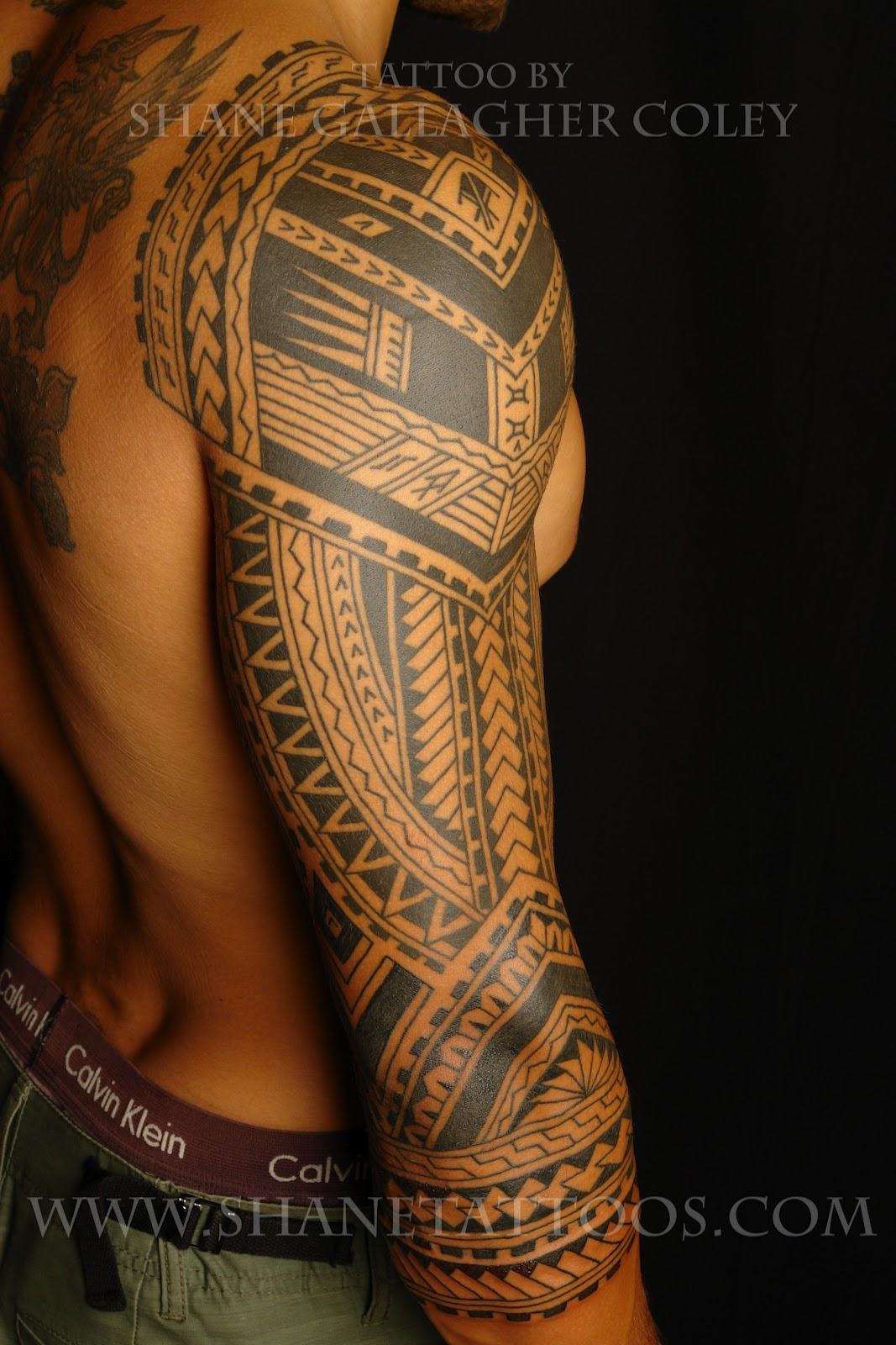 Maori Polynesian Tattoo Polynesian 3 4 Sleeve Ideas And Designs