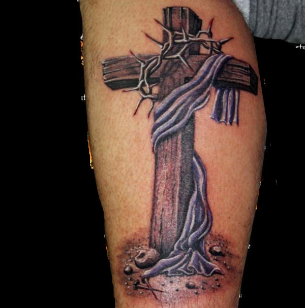 Wooden Cross Tattoos Tattoos Of Crosses Ideas And Designs