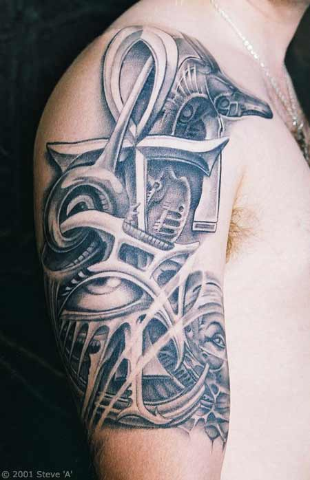 Biomechanical Tattoo Pictures Tattoo Picture Photos And Ideas And Designs