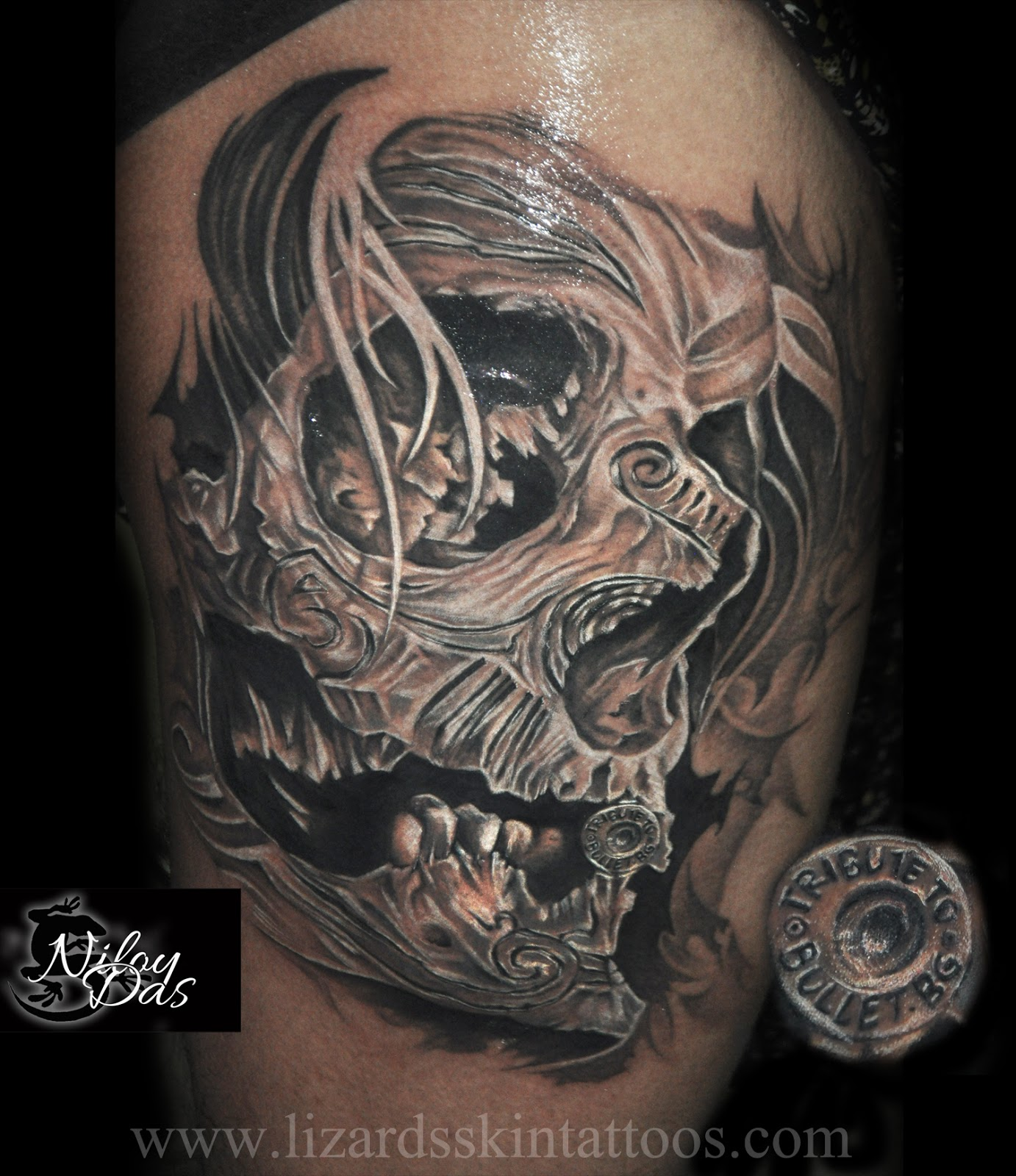 Lizard S Skin Tattoos Skull Tattoo And Its A Tribute To Ideas And Designs