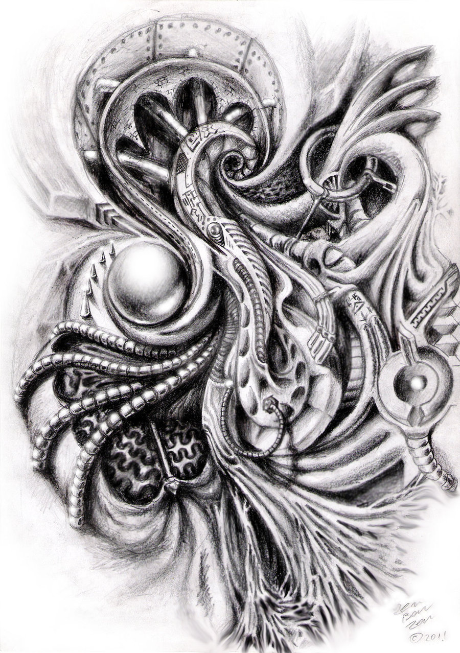 12 Great Bio Mechanical Tattoo Tattoo Design Ideas Ideas And Designs