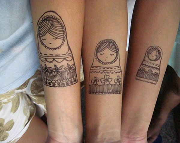 Cool Matching Tattoos D*Mn Cool Pictures Ideas And Designs