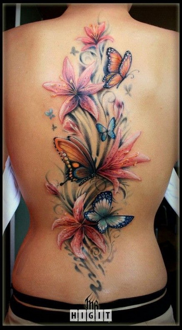 35 Pretty Lily Flower Tattoo Designs For Creative Juice Ideas And Designs