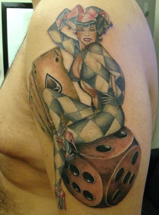 30 Best Dice Tattoo Designs To Try With Ideas And Designs