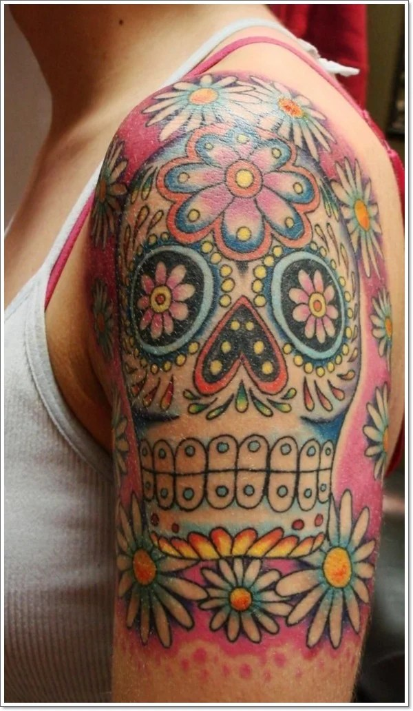 40 Bloodcurdling Day Of The Dead Tattoos Ideas And Designs