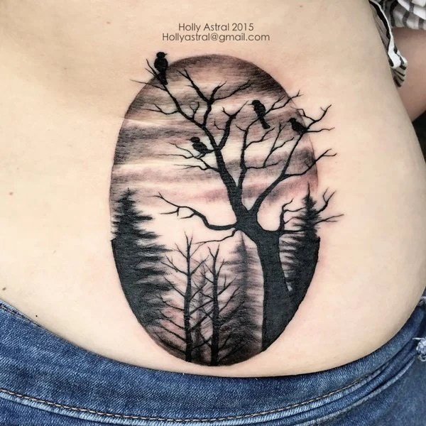 60 Tree Tattoos That Can Paint Your Roots Ideas And Designs