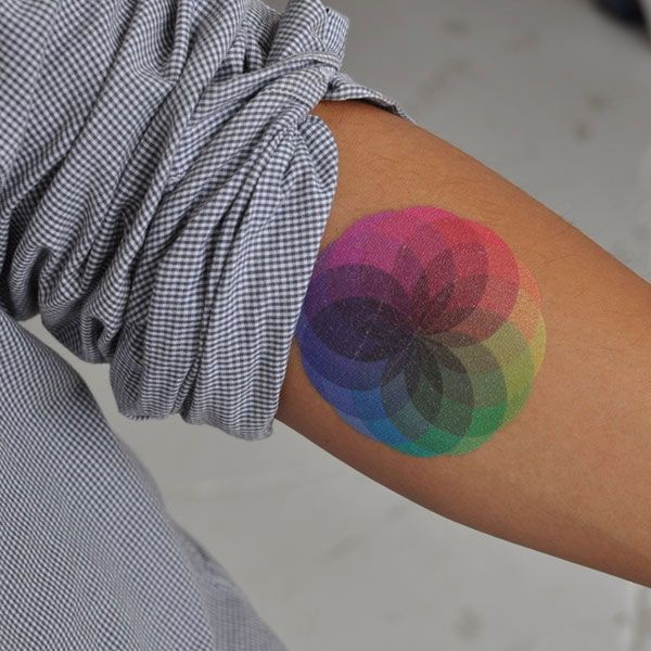 100 Glowing Color Tattoo Designs To Ink Ideas And Designs