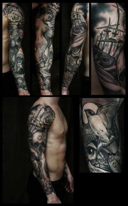 47 Sleeve Tattoos For Men Design Ideas For Guys Ideas And Designs