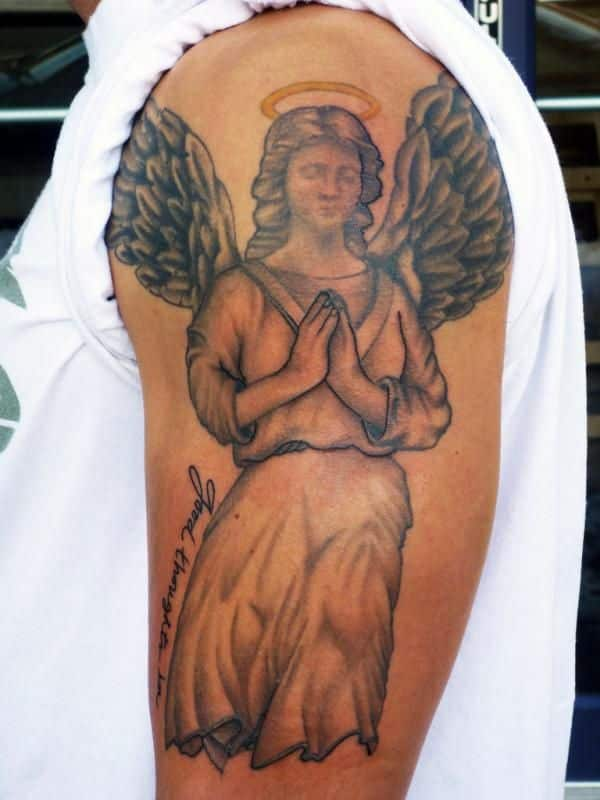 Angel Tattoos For Men Ideas And Inspiration For Guys Ideas And Designs