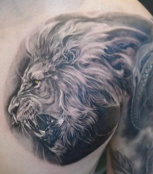 Lion Tattoos For Men Ideas And Image Gallery For Guys Ideas And Designs