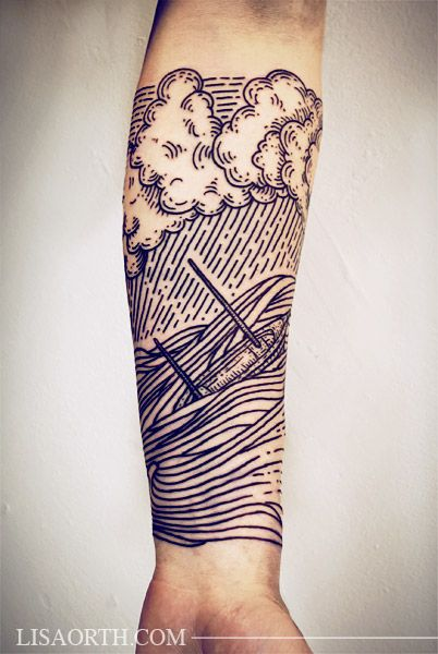 Cloud Tattoos For Men Ideas And Designs For Guys Ideas And Designs