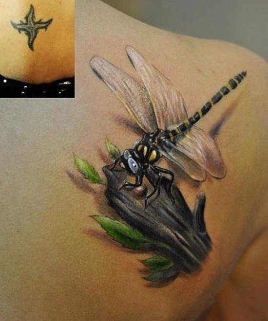 Dragonfly Tattoos For Men Ideas And Inspiration For Guys Ideas And Designs
