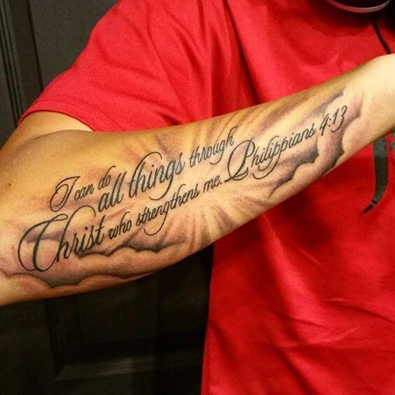 Scripture Tattoos For Men Ideas And Designs For Guys Ideas And Designs