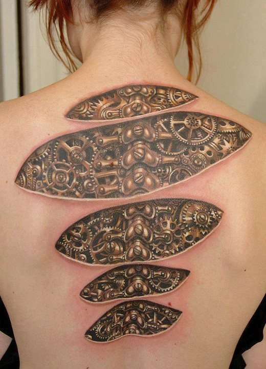 13 Awesome Steampunk Tattoos Ideas And Designs
