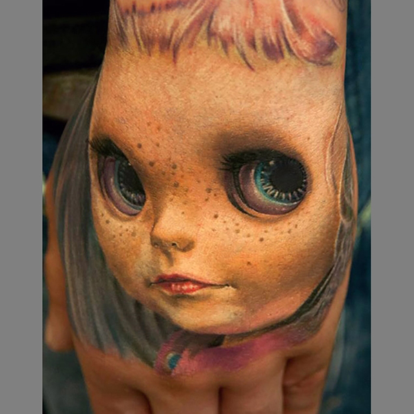 These 3D Tattoos Are Really Awesome And Kinda Creepy Ideas And Designs