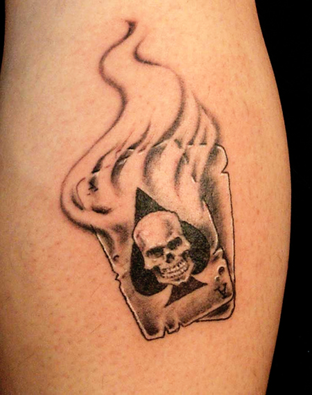30 Coolest Play Cards Tattoo Designs Around The Web Ideas And Designs
