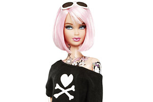 Barbie Doll Tattoos Is New Doll Appropriate For Kids Ideas And Designs