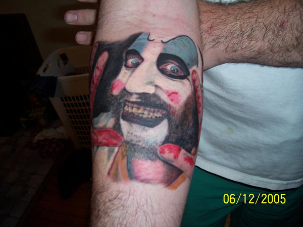 Captain Spaulding Tattoo By Mingan On Deviantart Ideas And Designs
