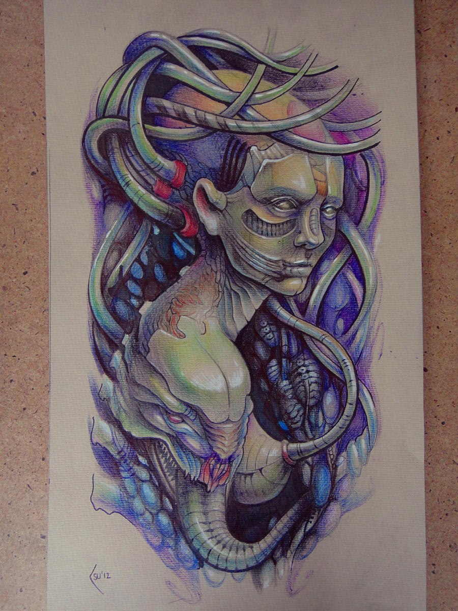 Tattoo Design Biomechanical Shoulder By Xenija88 On Deviantart Ideas And Designs