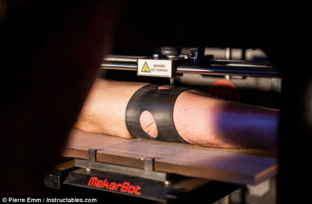 The 3D Printer That Can Give You A Tattoo Daily Mail Online Ideas And Designs