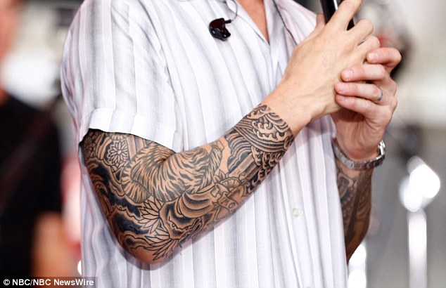 Adam Levine Finds Space For 3 More Tattoos On His Already Ideas And Designs