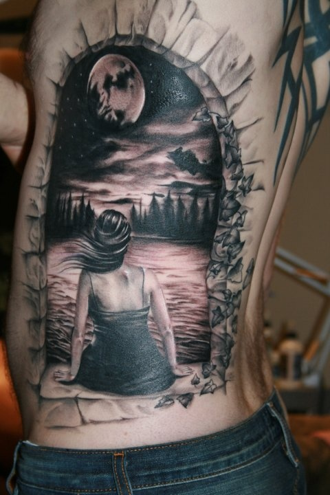 40 Amazing 3D Tattoo Designs Of 2013 In Vogue Ideas And Designs