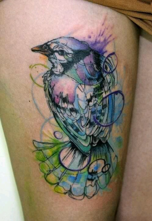 Watercolor Abstract Tattoo Design Of Tattoosdesign Of Ideas And Designs