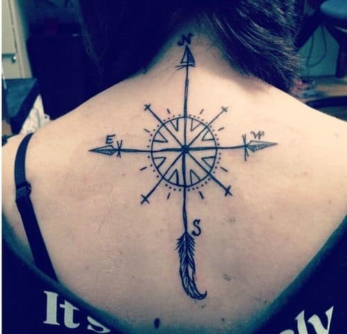 50 Best Compass Tattoo Designs And Ideas Ideas And Designs