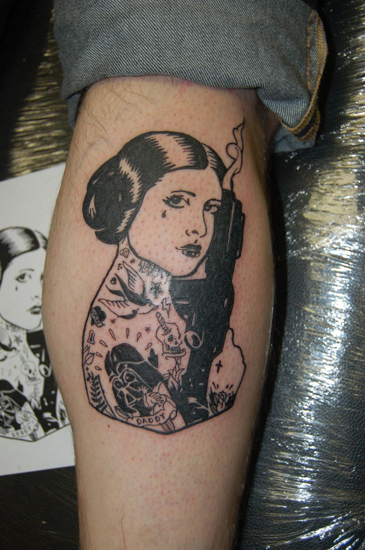Tattooed Leia Tattoo By Yayzus On Deviantart Ideas And Designs