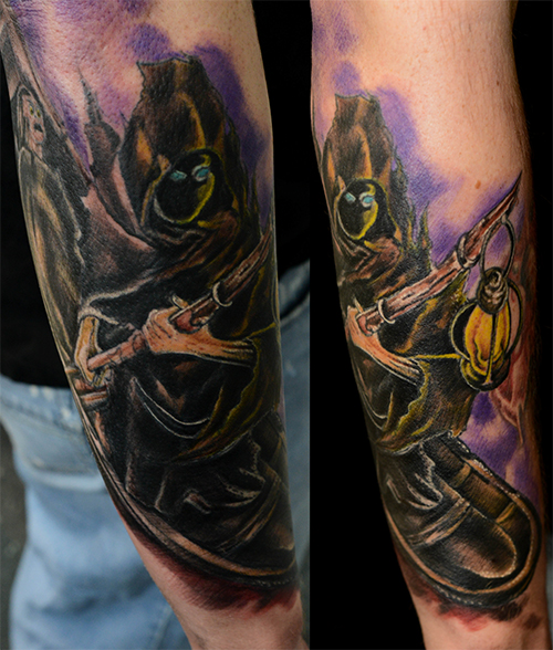 Color Gallery Art In Motion Tattoos Ideas And Designs