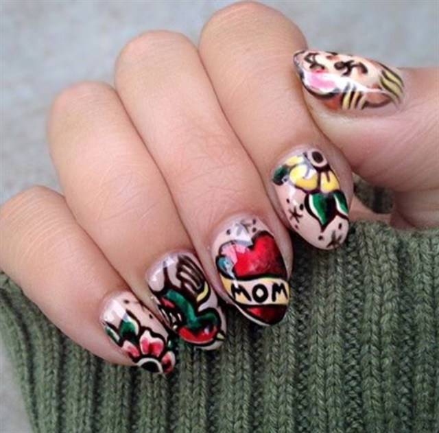 Tattoo Nail Art Trends Nails Magazine Ideas And Designs