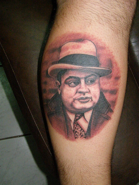 Al Capone Tattoo Flickr Photo Sharing Ideas And Designs