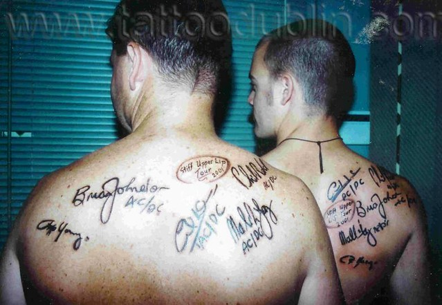 Ac Dc Tattoo Flickr Photo Sharing Ideas And Designs