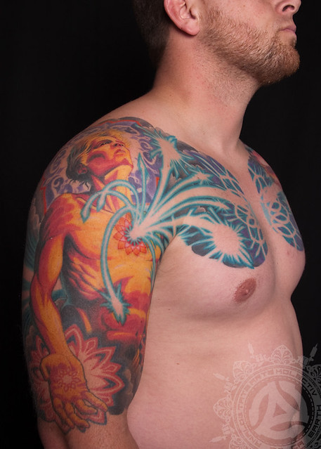 The Path Cascading Cores Tattoo By Adrian Lee Flickr Ideas And Designs