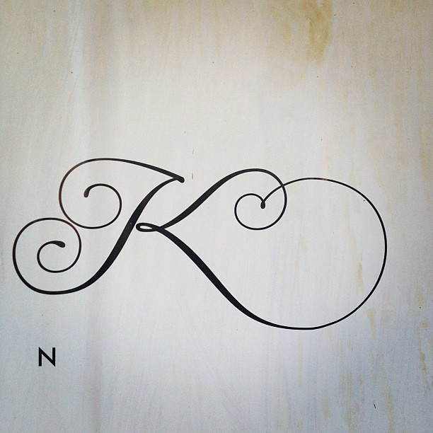 K Lettering Poster Flickr Photo Sharing Ideas And Designs
