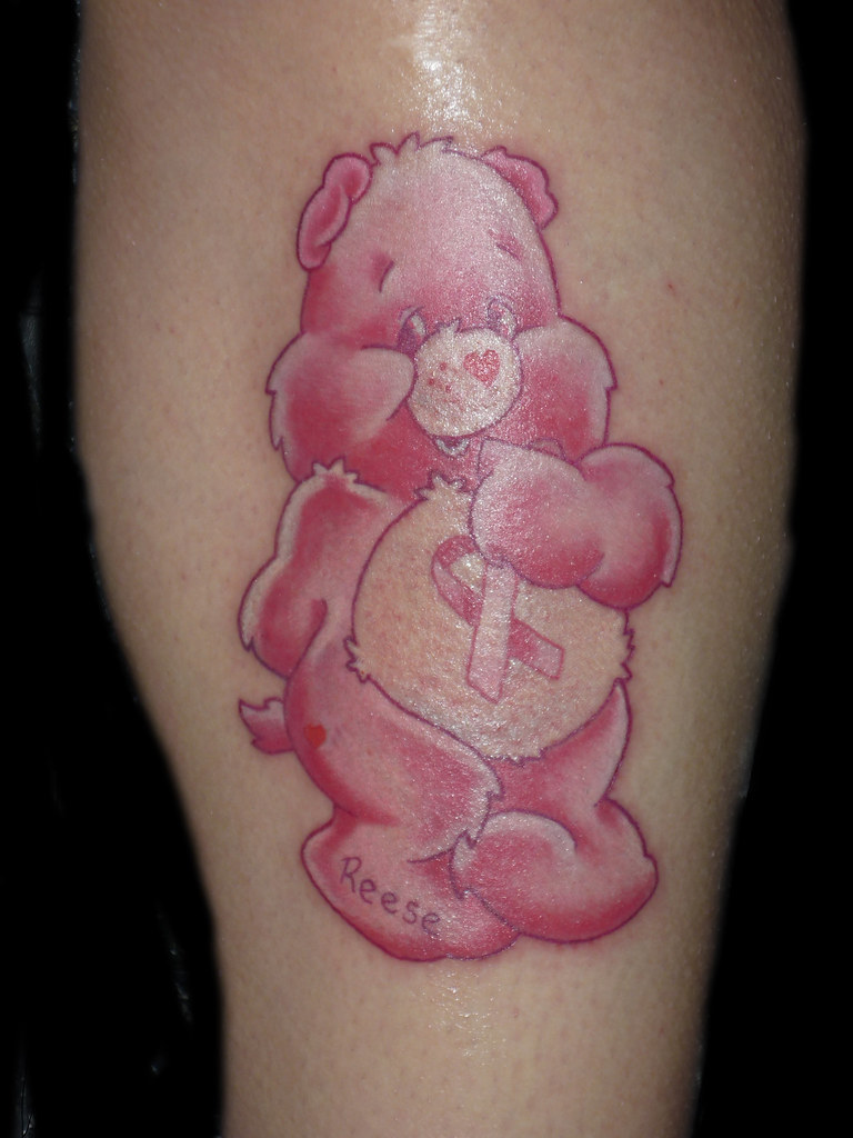 Care Bear Tattoo Br**St Cancer Tattoo A Photo On Ideas And Designs