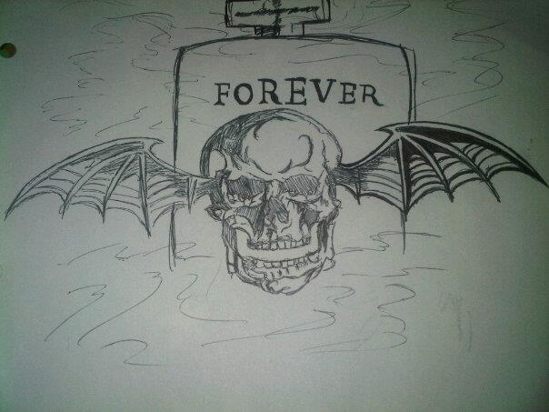 My Avenged Sevenfold Tattoo Design By Countess Rhapsodos67 Ideas And Designs