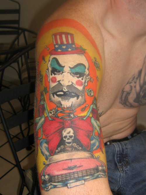 Captain Spaulding Tattoo By Darthpat On Deviantart Ideas And Designs