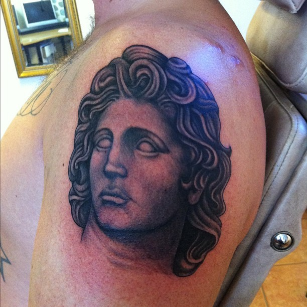 Lakss Tattoo Alexander The Great Today This Will Be An Ideas And Designs