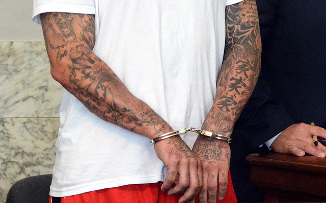 Officials Examining Aaron Hernandez S Tattoos For Gang Ideas And Designs