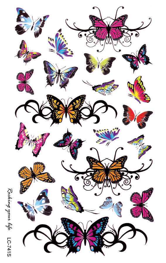 Aliexpress Com Buy Lc2741S 19 12Cm Large Tattoo Sticker Ideas And Designs