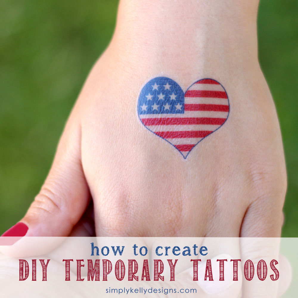 How To Create Diy Temporary Tattoos » Simply Kelly Designs Ideas And Designs