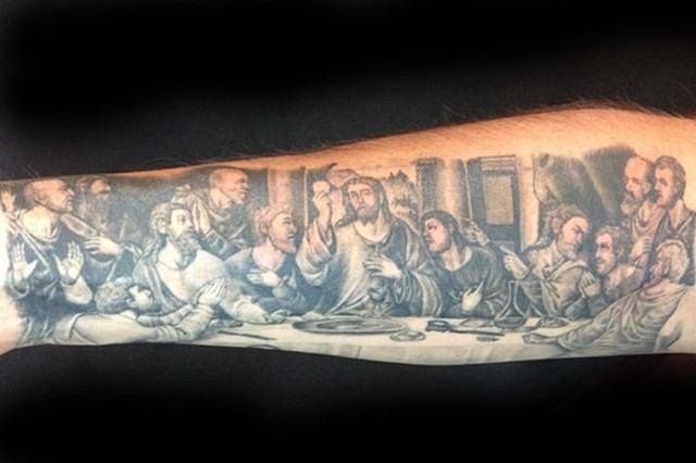 8Th Day Tattoo Last Supper Ideas And Designs