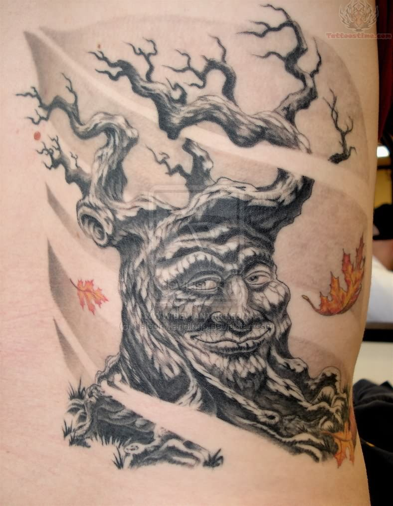 Very Old Tree Tattoo Ideas And Designs