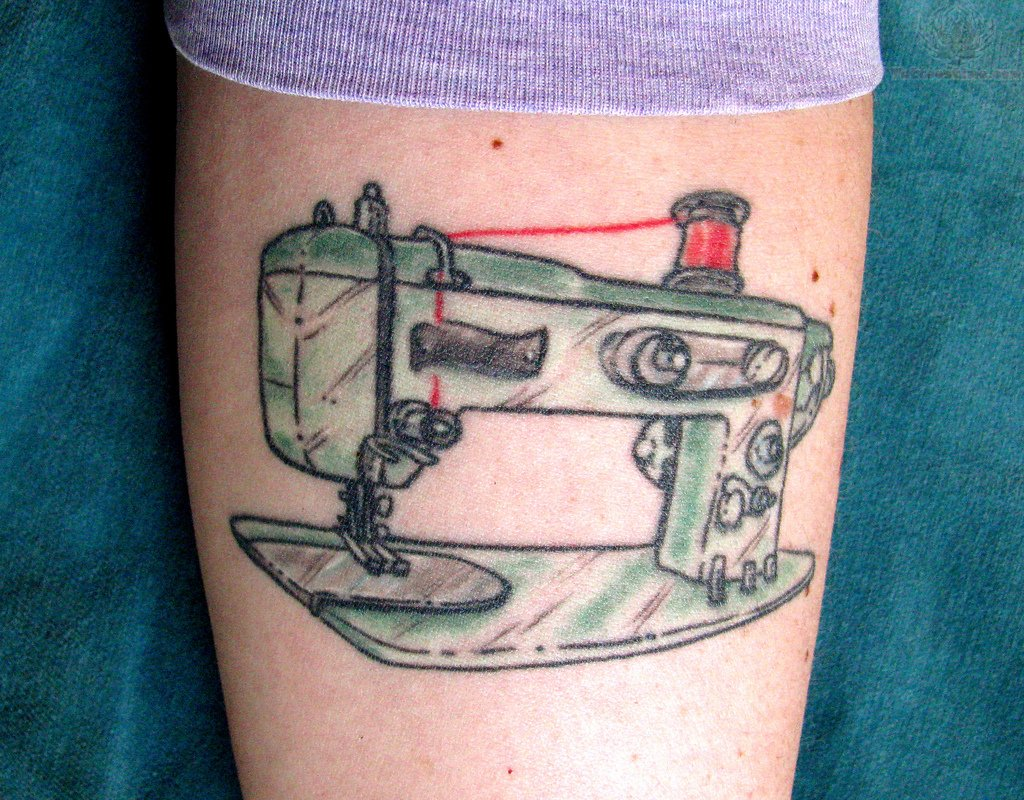 Sewing Tattoo Images Designs Ideas And Designs