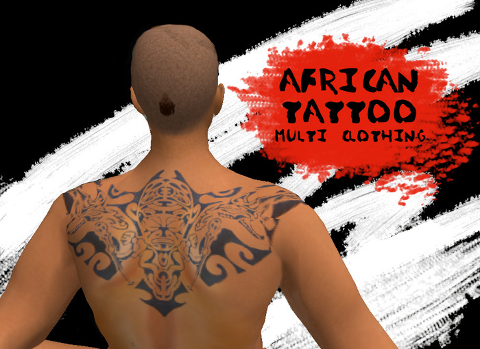African Mask Tattoo Ideas And Designs