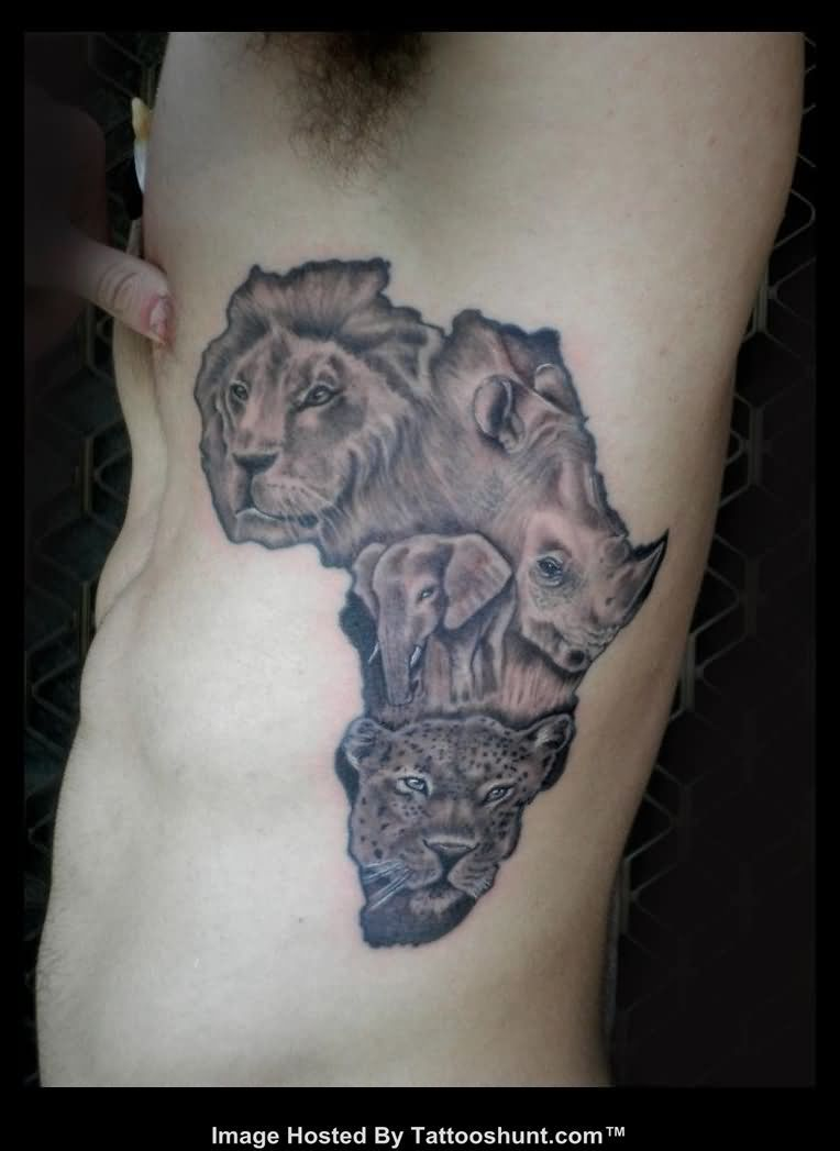 Map Tattoo Images Designs Ideas And Designs