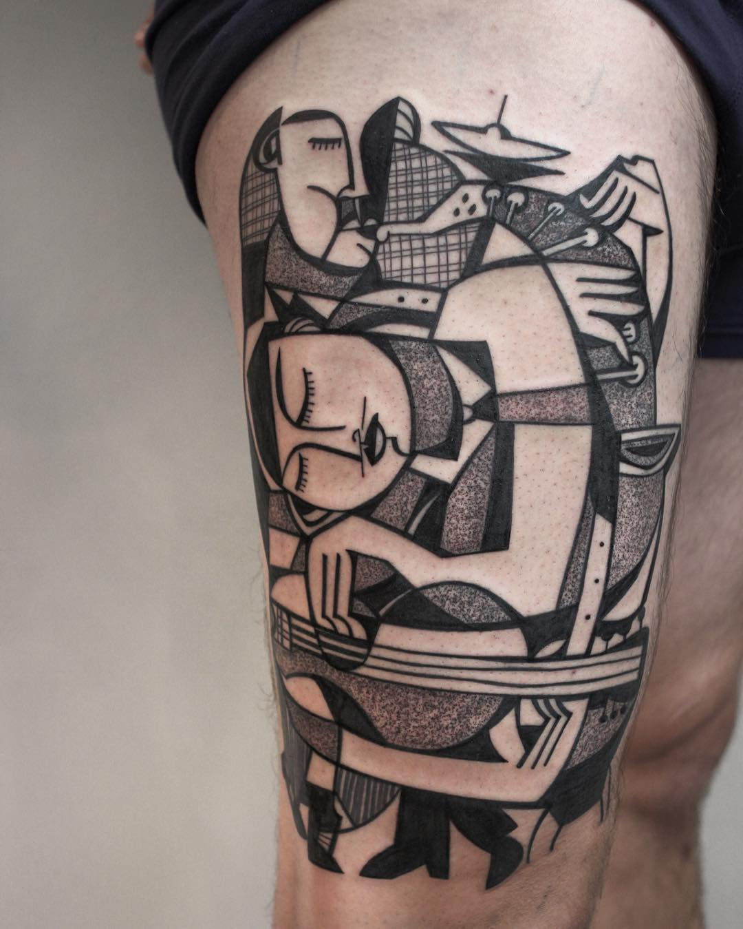 Vibrant Tattoos By Peter Aurisch Incorporate Elements Of Ideas And Designs